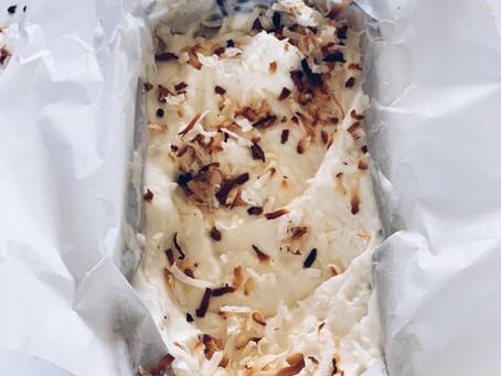 Ice cream: Coconut Rum