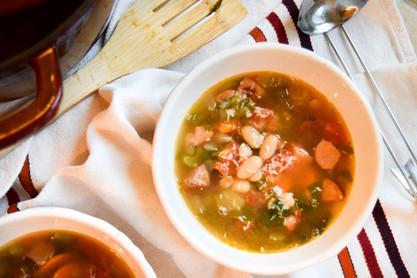 White Bean & Sausage Soup