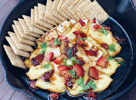 Strawberry Balsamic Brie