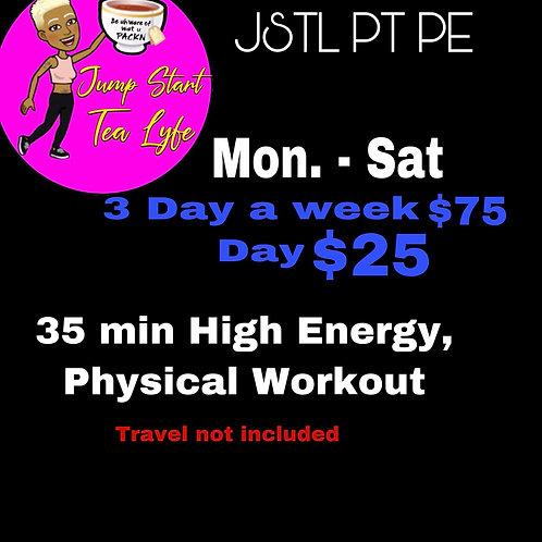 JSTL PT-PE 3 Day