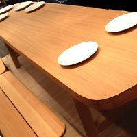 grande table chêne benjamin janin ébéniste
