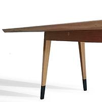 table bois massif benjamin janin ébéniste
