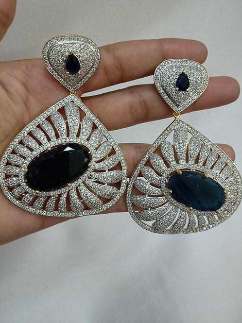 Big CZ Earrings