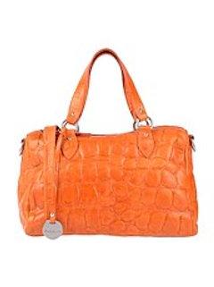 Orange women handbag