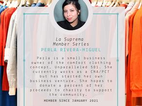 Member Blog Series: Perla Rivera-Miguel