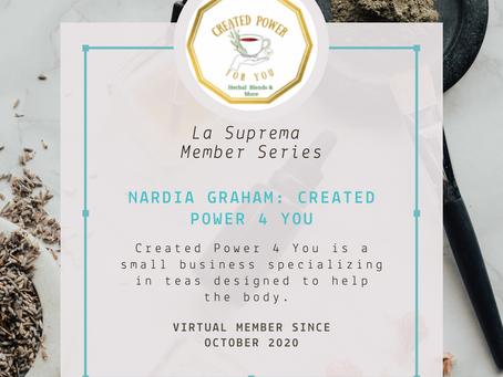 Member Blog Series: Nardia Graham