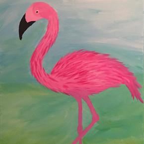 Let's Flamingo - SOLD