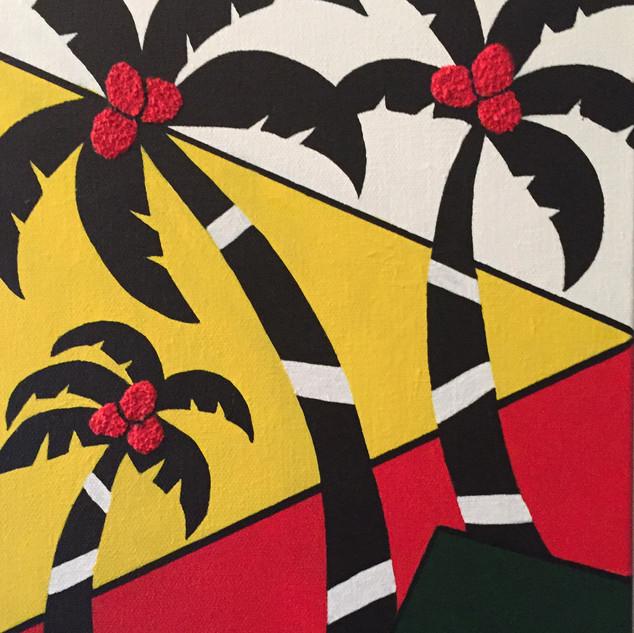 Punky Palms - SOLD