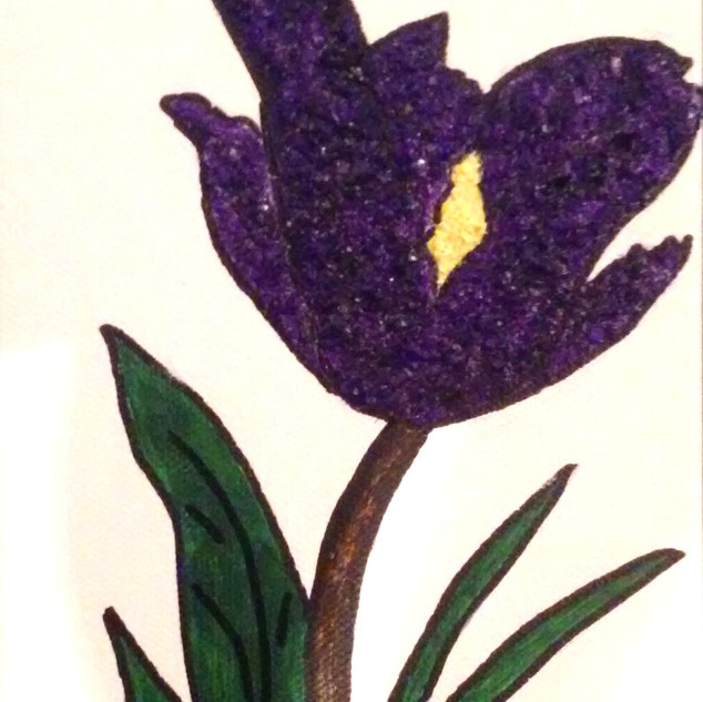 Eggshelled Iris