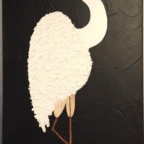 Eggy Egret - SOLD