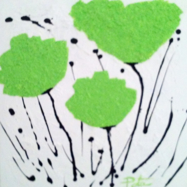 Green Poppies