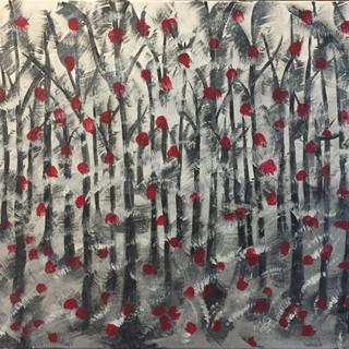 Poppies in the Woods