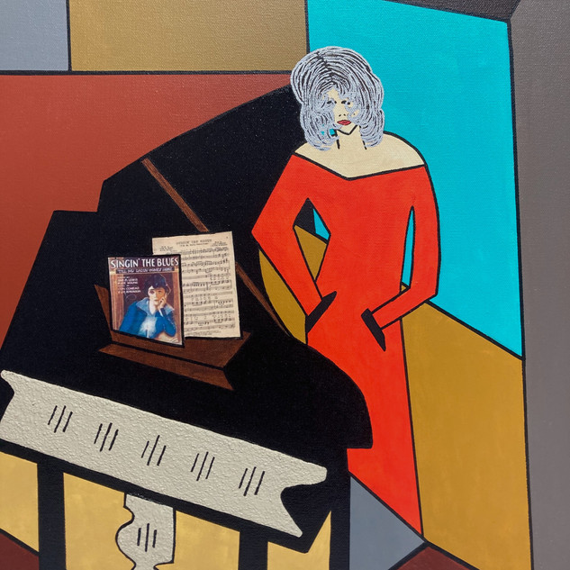 Singing the Blues - SOLD