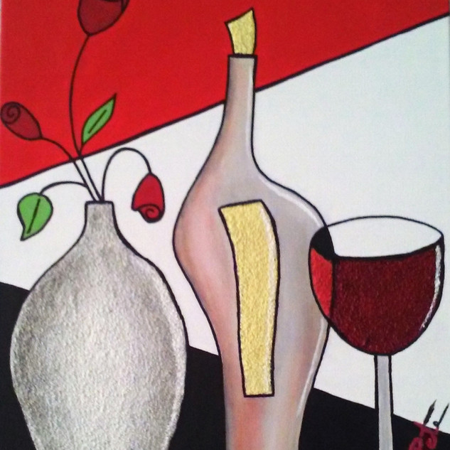 Wine & Roses - SOLD