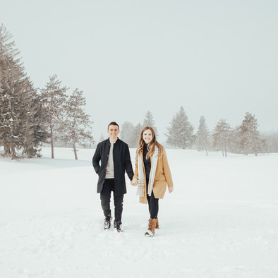 Royal Ottawa Golf Club Engagement Session - Mathieu & Emily