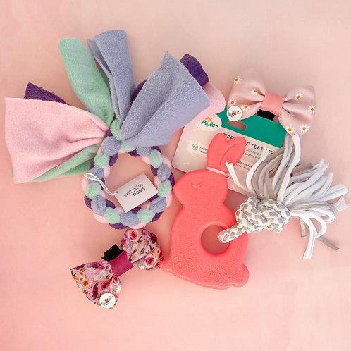 ZippyTuff Teetherz, Party Ring Toy & Bows
