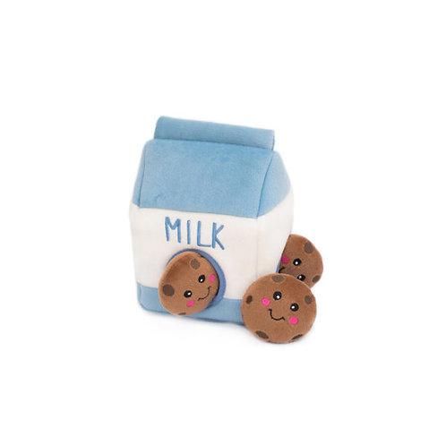 Zippy Paws Milk and Cookies