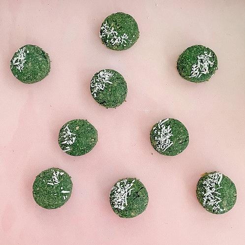 Spirulina & Coconut Cookies