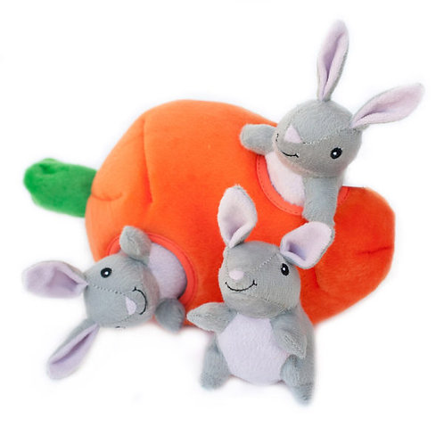 Zippy Burrow Bunny 'n Carrot