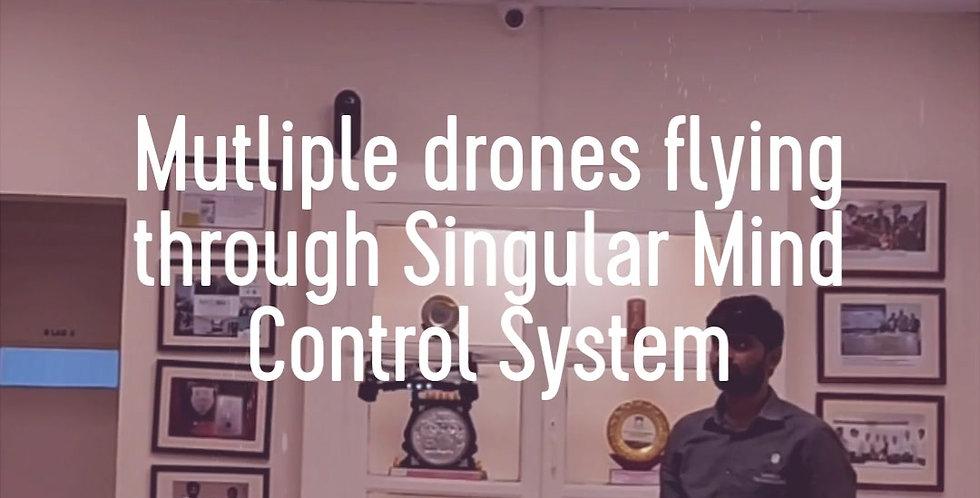 Swarm Drone using Mind Control
