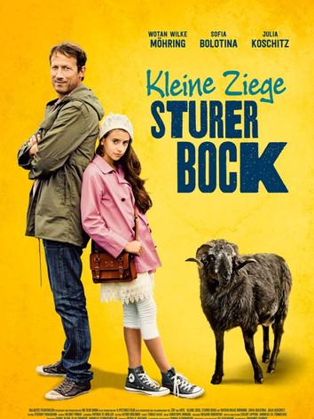 Kleine Ziege Sturer Bock
