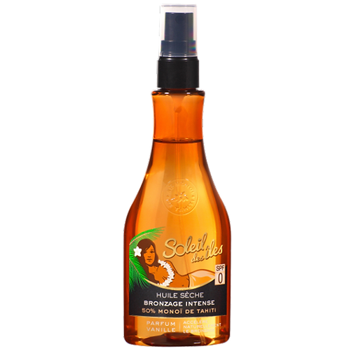 Huile sèche SPF 0 vanille 150 ml