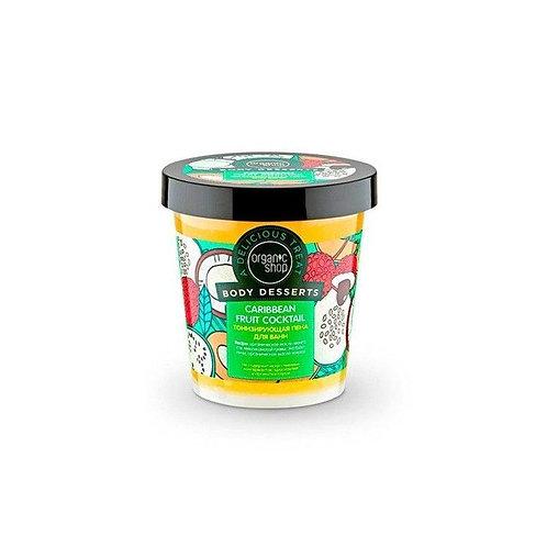 Mousse de bain tonifiante pour le corps BIO 450 ml