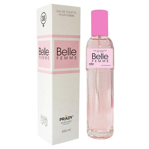 Eau de Toilette Belle Femme 200 ml