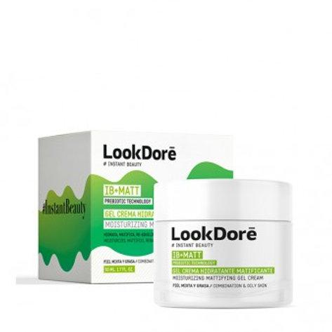 LOOKDORE Ib + Matt Gel Crème Hydratante Hydratante