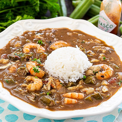 Seafood and Chicken Gumbo