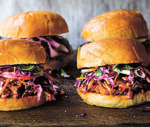 BBQ Pulled Pork Sliders
