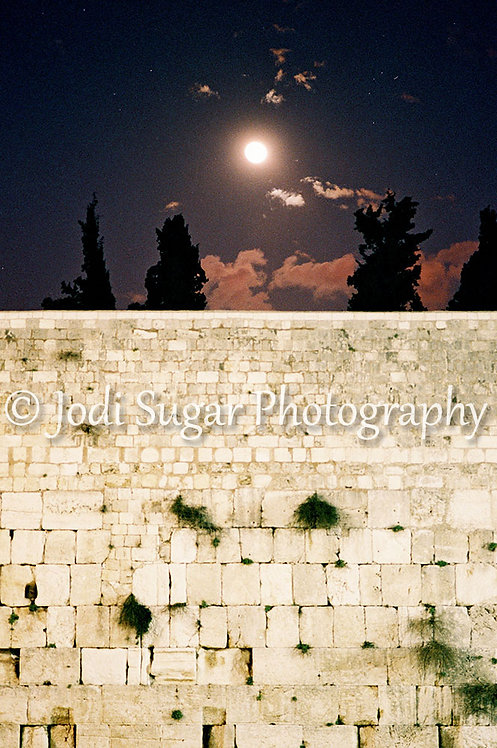 Moon Over the Kotel