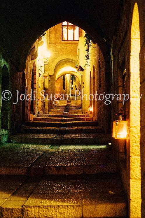 Chanukah in the Jerusalem Jewish Quarter
