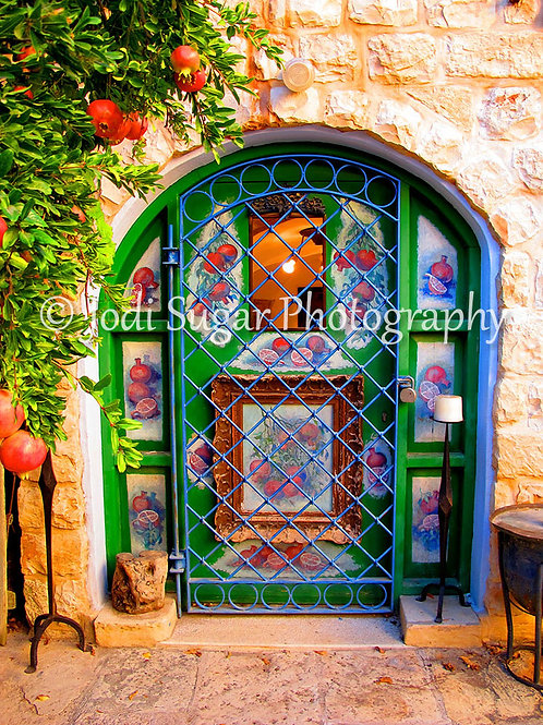 Pomegranate Door