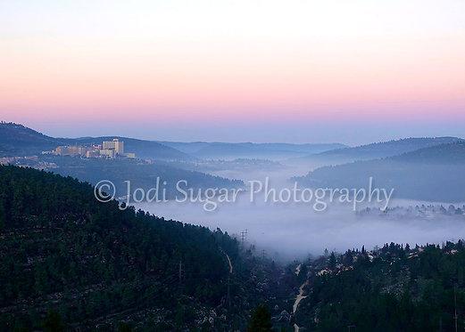 Har Nof, Jerusalem Sunrise