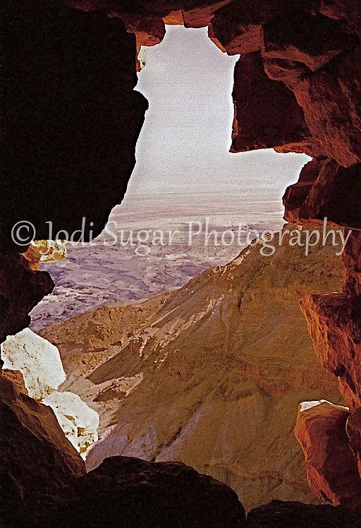 The Cliffs Of Masada