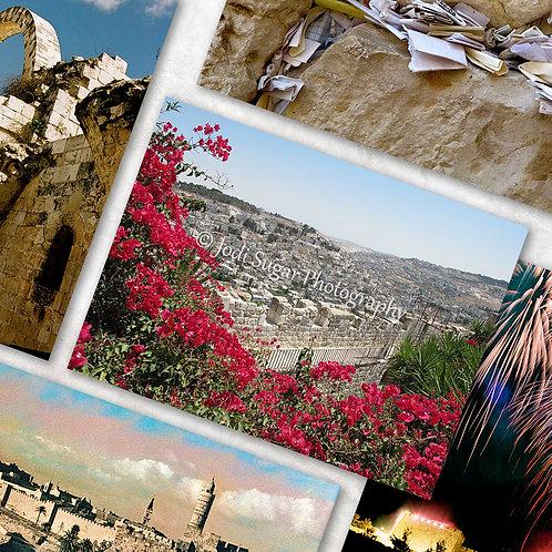 Jerusalem Card Set