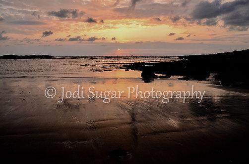 Sunset Nachshalim Beach