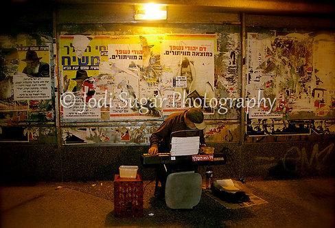 Underground Musician, Jerusalem