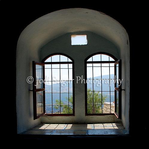 Rabbi Yosef Caro Shul Window