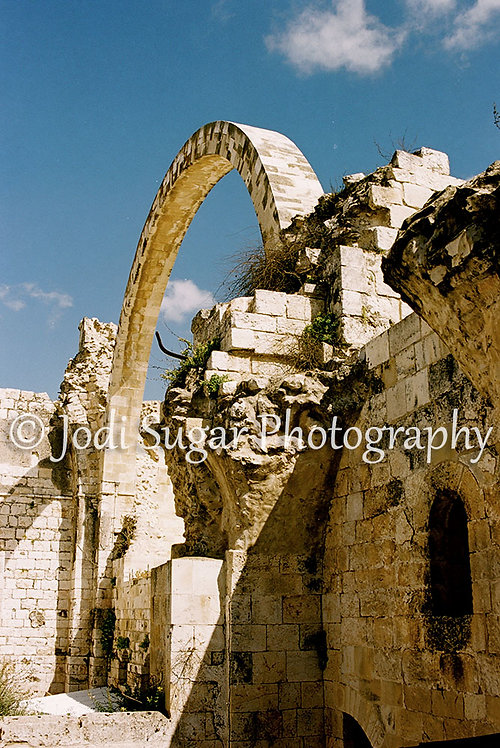 The Destroyed Hurva Synagogue, Jerusalem