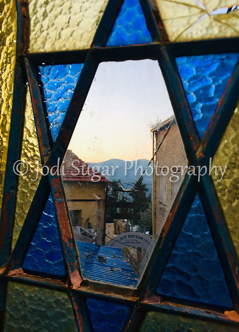 the Star Window, Safed