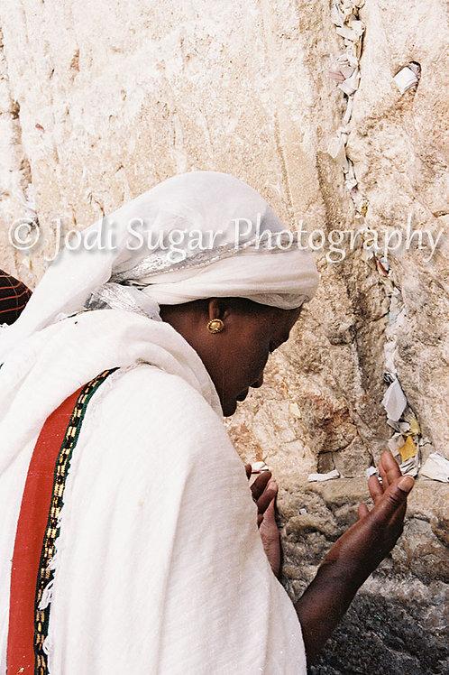 Ethiopian Prayers at the Kotel