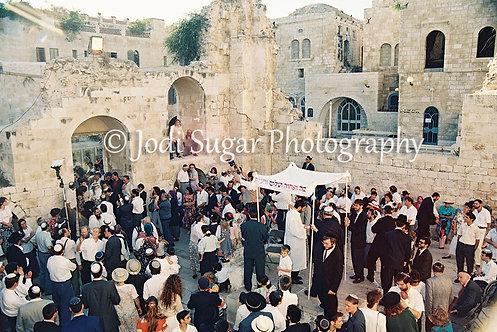 Wedding In The Jewish Quarter, Jerusalem