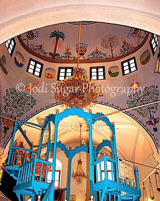 Abuhav Synagogue Ceiling, Safed