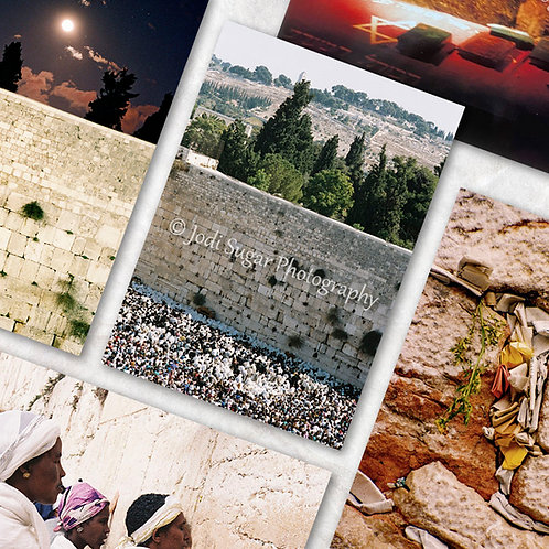 Western Wall Card Set