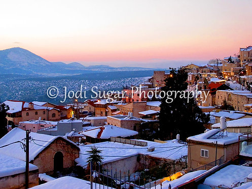 Winter in Safed