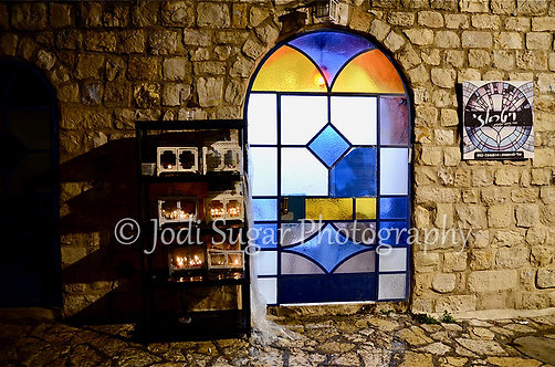 Chanukah in Safed Old City