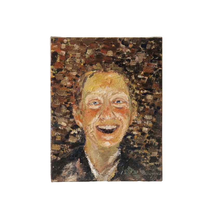 Self Portrait, Laughing