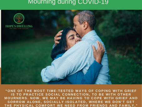 Mourning during COVID-19